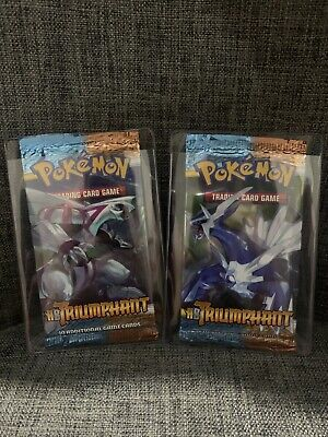 Set Pokemon Booster Pack Eng HS Unleashed Sealed and Unweighed