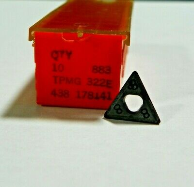 Carboloy Round Inserts Qty 10 Grade 883 RNMG-32E-48