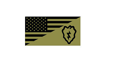 USA FLAG UNITED STATES ARMY 2nd INFANTRY DIVISION TACTICAL VINYL DECAL STICKER