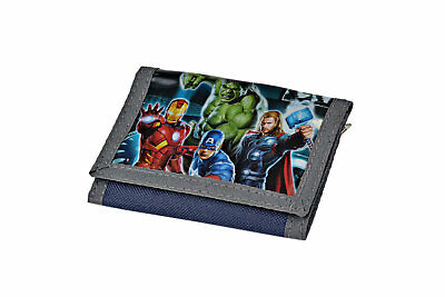 Avengers - Wallet Trifold - Purse original 'marvel' With superheroes