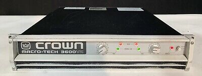 W//manual Crown P.I.P EDCb Programmable Input Processor Free Shipping