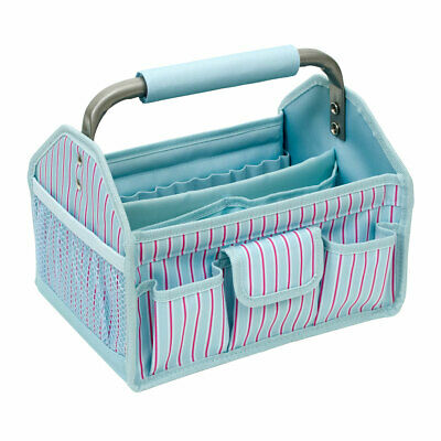 Craft Tool Box  Multi Stripe  26.7 x 20.3 x 21.59cm Everything Mary EVM11031-3