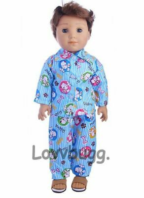 "SALE Sport Pajamas for 18/"" American Girl Boy Logan Doll Clothes LOVV LOVVBUGG"
