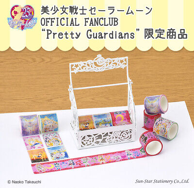 8pcs//set SAILOR MOON Crystal scrapbooking MASKING TAPE TRANSFORM decorative tape