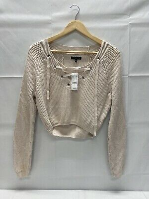 KENDALL /& KYLIE Pac Sun ~ NWT New XS or M ~ FUZZY GODDESS Cropped Sweater