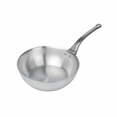 De Buyer Affinity Conical Sauté Pan in Silver Stainless Steel - Dishwasher Safe