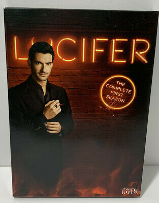 Lucifer  The Complete First Season  DVD  2016  3 Disc Set