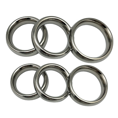 40mm-55mm Stainless steel ball stretcher scrotum delay weights Ring