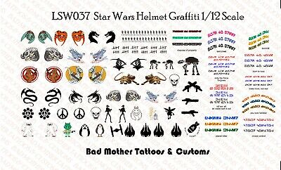 Star Wars Gal Republic Clone Medic Waterslide Decals for 1//18 and 1//12 figures