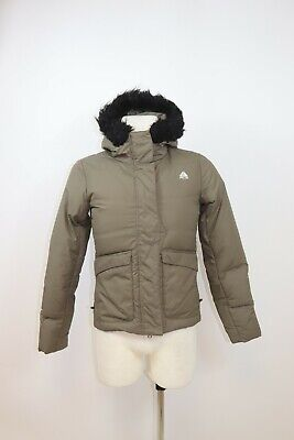 Zip Up Puffer Quilted Goose Down Hooded