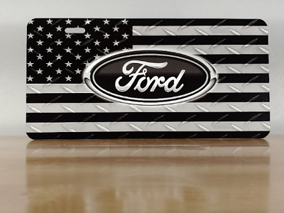 Ford Custom License Plate - Custom Car Tag - Personalized License Plate