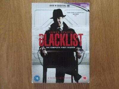 The Blacklist Complete Season 1 First Series - 6 Dvd Set Watched Once Excellent