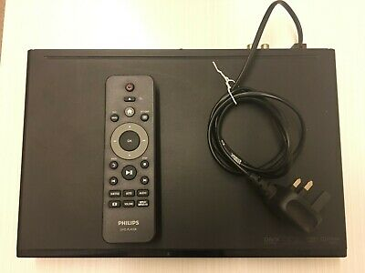 Philips DVP3600/05 DVD Player Scart With DivX ProReader Drive with remote.