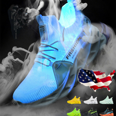 Men's Athletic Sneakers Sports Casual Running Shoes Outdoors Trainers Breathable