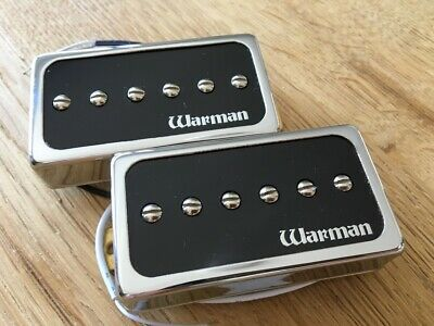 Warman Lil/' Hot White Devils 13.78k and 7.12k Matched pair of humbuckers