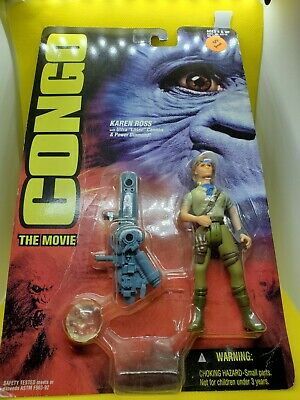 Figure Kenner Sealed In Box Congo Mail Away Promo 1 Never Opened