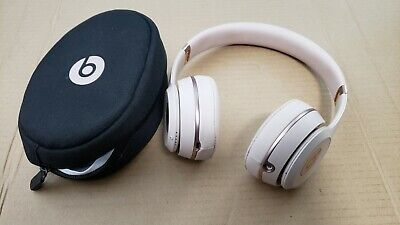 Beats By Dr Dre Solo3 Wireless On Ear Headphones Satin Gold 113 99 Picclick