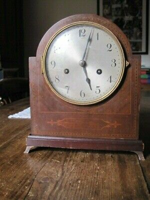 Antique German Victorian/ Edwardian? Striking  Mantle Clock