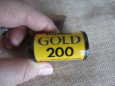 Expired 35mm Film  Roll Kodak Gold 200 24 Exp Color Prints As Is