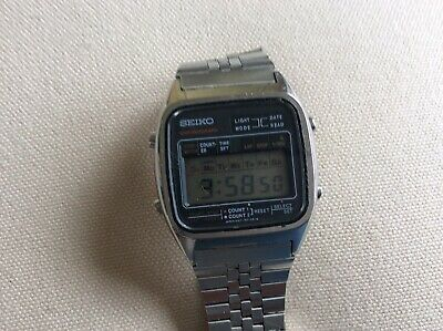 1980 seiko 4 button digatl watch