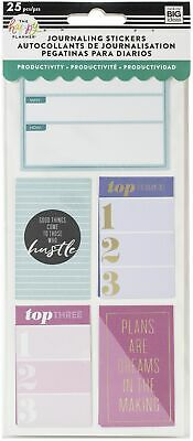 Happy Planner Medium Flip Stickers 5/Sheets-Productivity
