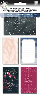 Happy Planner Medium Flip Stickers 5/Sheets-Boho, 24/Pkg