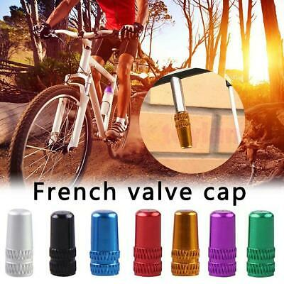 20X Bike Cycle Bicycle Presta Alloy High Pressure Valve Caps Dust Cover for MTB⭐