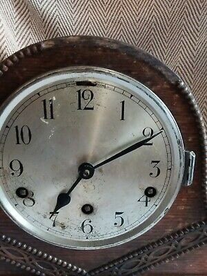 Chiming Mantle  Clock For Spare Or Repair.