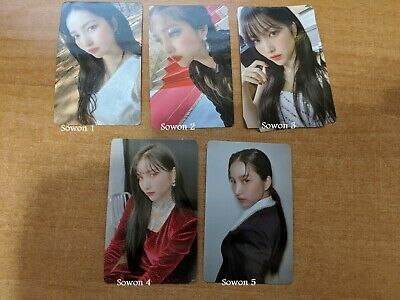 Gfriend Song of the Sirens Official Photocards