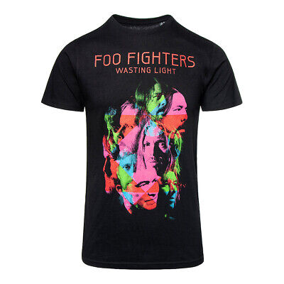 FOO FIGHTERS Wasting Light Black T SHIRT - Official Album Dave Grohl Unisex Tee