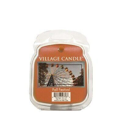 Village Candle Fall Festival Wax Melt / Tart FREE P&P