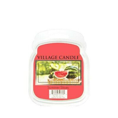 Village Candle Summer Slices Wax Melt / Tart FREE P&P