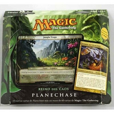 Magic TG Planechase Reino del Caos (Castellano)