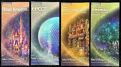 NEW 2020 Reopening Walt Disney World  Guide Maps 4 ++ Bonus
