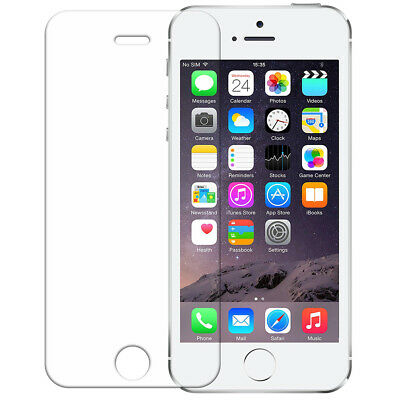 For Apple Iphone 5 100% Genuine Tempered Glass Film Screen Protector