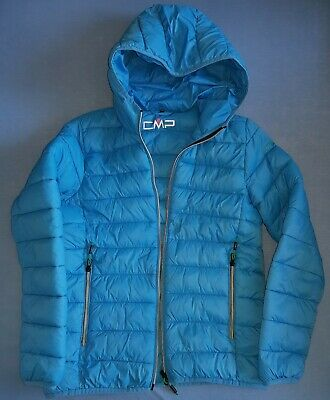 CMP STEP DAUNEN Jacke Damen Kinder Ultraleicht Outdoor Grün