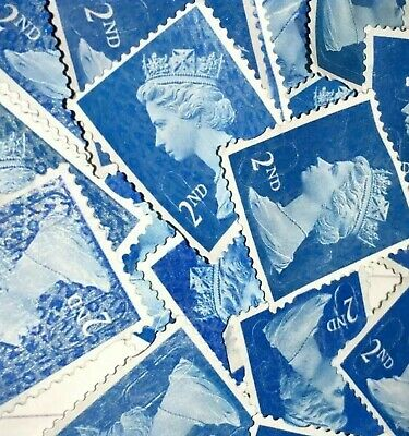 3000 2nd Class Stamps Unfranked off Paper no Gum excellent quality no reserve
