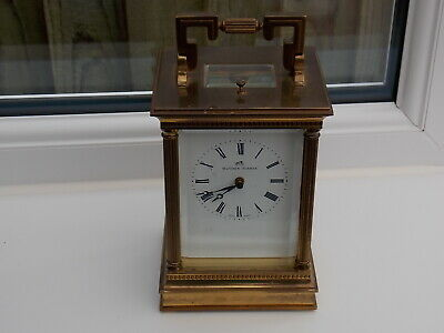 Swiss Mathew Norman 1751A Striking Repeater Carriage Clock 8 Day Working Order