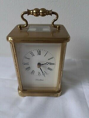 Vintage Carriage case Clock English made