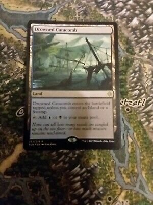 Excellent+ Magic MTG Drowned Catacomb ~ Magic 2012