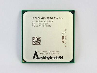 Amd A8 Series A8 3870k Ad3870wnz43gx 3ghz Quad Core Socket Fm1 Cpu Us Shipping 29 89 Picclick