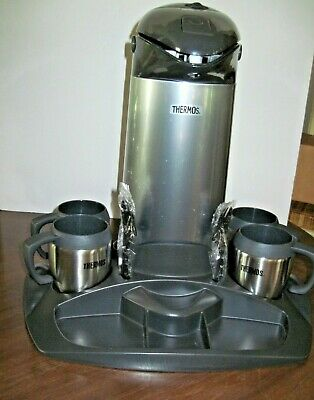 Group meeting Coffee Pot & cup set b y Thermos