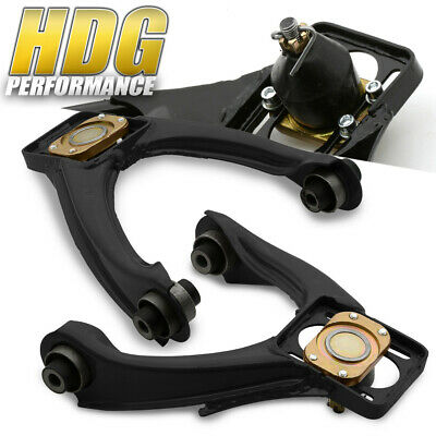 For 96-00 Civic Performance Front Upper Adjustable Camber Control Arm Kit Black