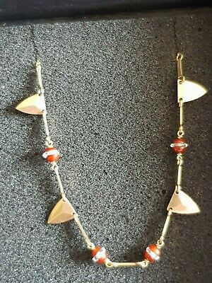 Unusual 9ct Gold Link Necklace