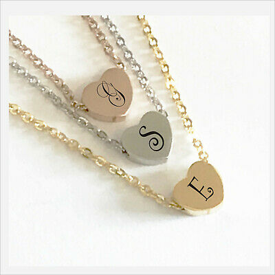 Golden Diamante Heart Necklace /& Earrings Set Mothers Day Valentines Gift J118