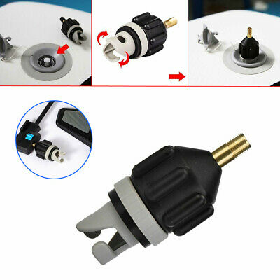 Air Valve Adaptor Sup Pump Adapter Inflatable Boat Paddle Board For Canoe P9R9