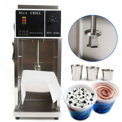 High Quality Electric Auto Blizzard Ice Cream Machine Maker Shaker Blender Mixer