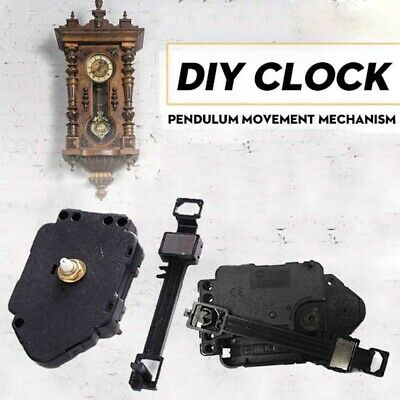 DIY Mechanism Parts Pendulum Movements Replacement Kit Wall Clocks  Quartz Clock