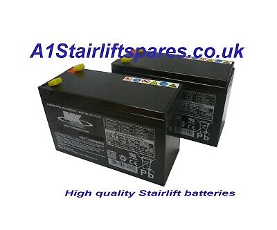 Stannah 240 stairlift batteries x2