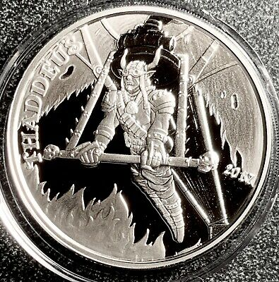 2018 Phoebus the Adult Lolita Angels /& Demons Steampunk 1 oz .999 Silver Proof